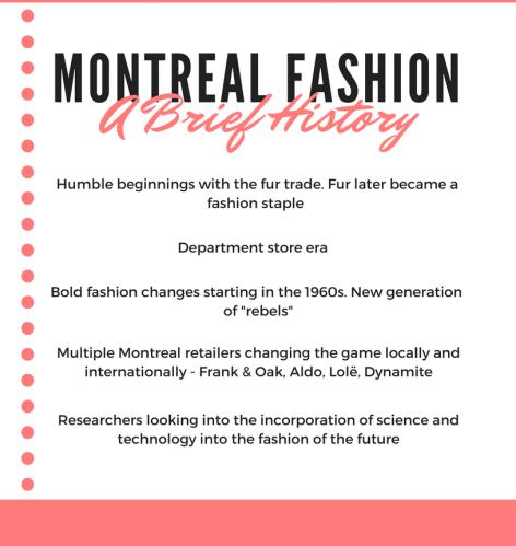 Montreal fashion history