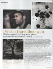 Article on Osheen Harruthoonyan. Canadian House & Home Magazine. Author: Betty Ann Jordan