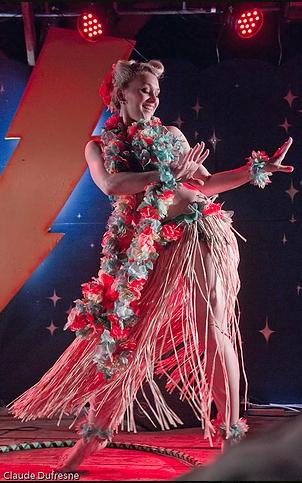 Past ShazamFest hula dance perfomer. Photo: Claude Dufresne