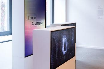 Cadavre Exquis Phi Centre - Laurie Anderson VR station. Photo: Sandra Larochelle