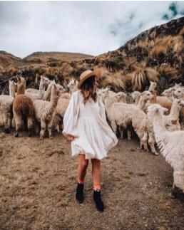 Llama Blessing Peru Mel Vandersluis