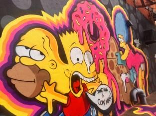 Brooklyn Simpsons Graffiti Walking Tour