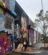 Bushwick Graffiti Walking Tour. Photo: Anne Jano