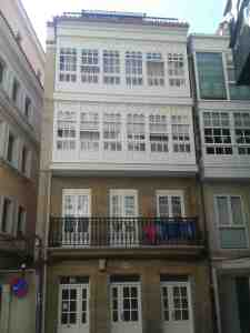 House in the historic part of La Coruna