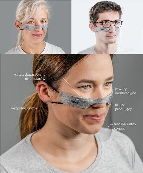 vitberg mini shield oddychająca maska