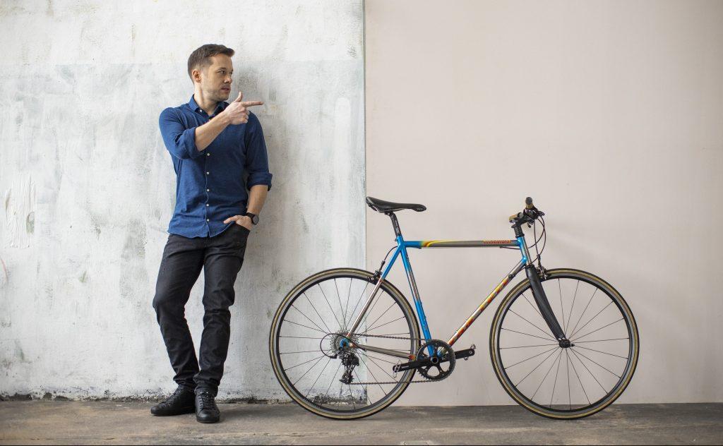 jan prószyński marketing konsultant strateg na rowerze