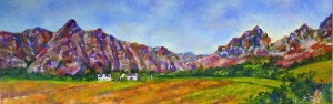 Stellies Views Oil on Canvas