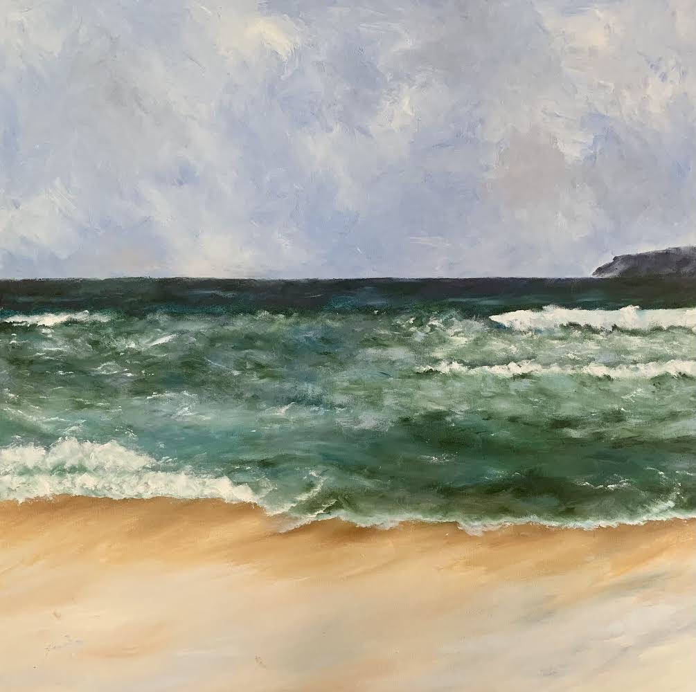 impressionist seascape painting commission