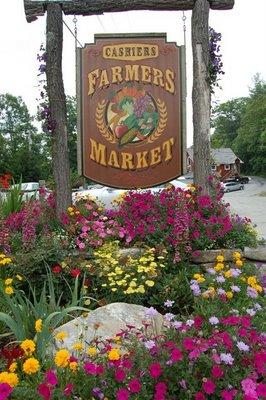 farmers market, cashiers, north carolina