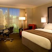 A guest room at Loews in Midtown