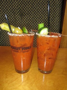 We enjoyed plenty of fabulous meals at many of Greenville's fabulous restaurants. The build-your-own Bloody Mary at Soby's on Main was a highlight.