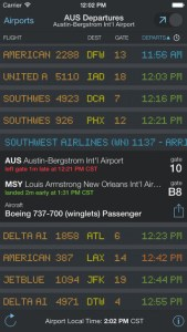 FlightBoard turns my iPhone into a live, real-time flight board.