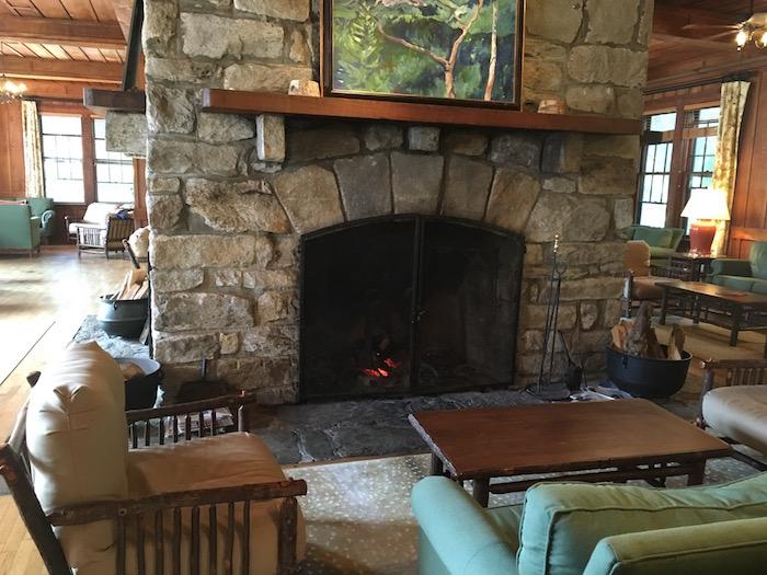 High Hampton Inn fireplace