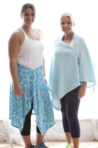 The Armagami shawl can be worn 15 different ways.