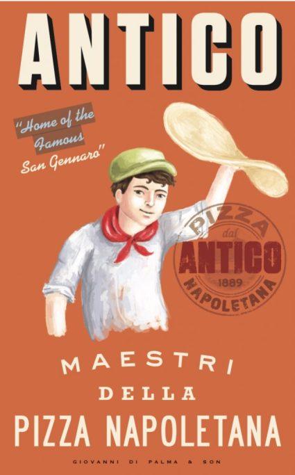 poster for Antico Napoletana Pizza