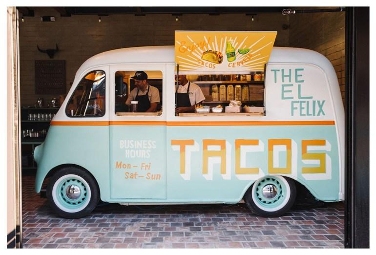 El Felix taco truck The Battery at SunTrust Park