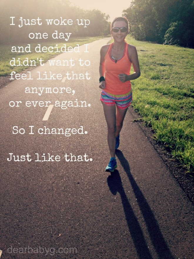 This image was created with runners in mind, but think metaphorically and it speaks to us all.