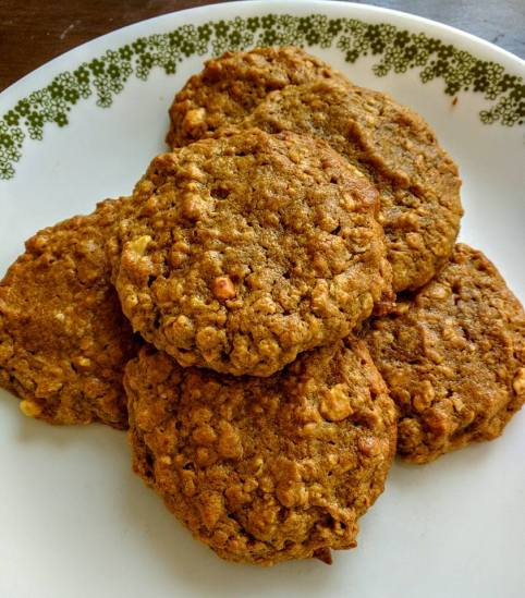 PeanutButter Oatmeal cookies
