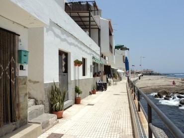 quaint houses by the sea