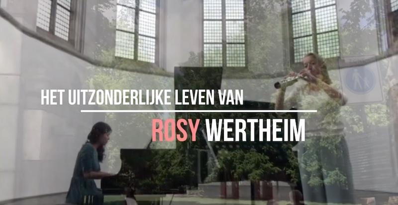 vertelconcert 18 juli – over Rosy Wertheim