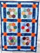 Tessa's Hexagon quilt