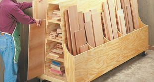 Methods of storing wood