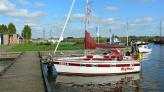 in Woudsend, Friesland im Hafen De Rakken, Woudsend