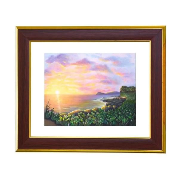 Sunset paintings by Jan Tetsutani Art
