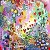 Jan Tetsutani Art Joyful Heart Painting