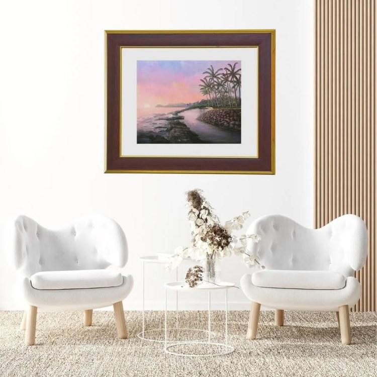 art for living rooms by Jan Tetsutani