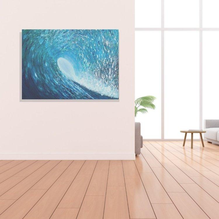 surf art prints by Jan Tetsutani