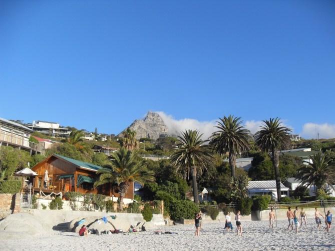 Clifton beach Kaapstad Zuid-Afrika