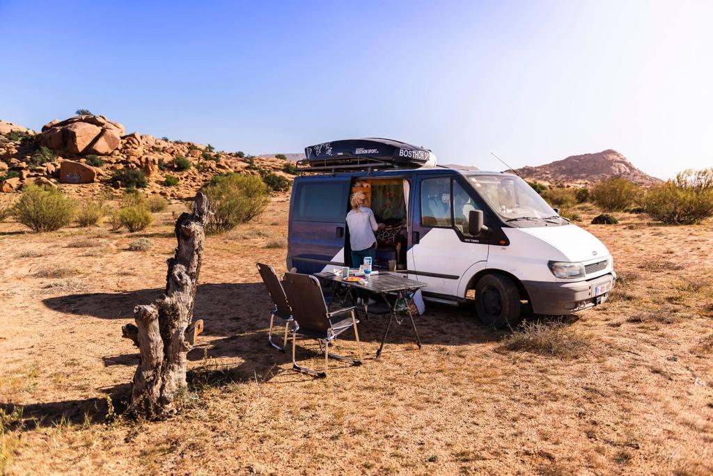 kampeerplek marokko