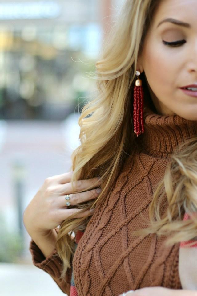 Tassel earrings | January Hart Blog