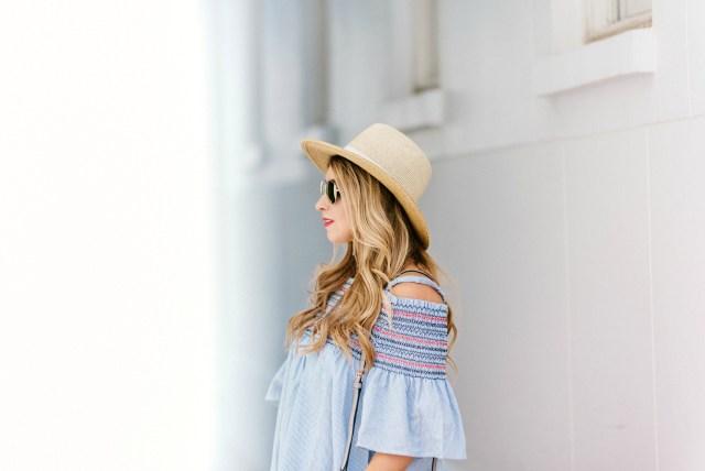 target straw hat