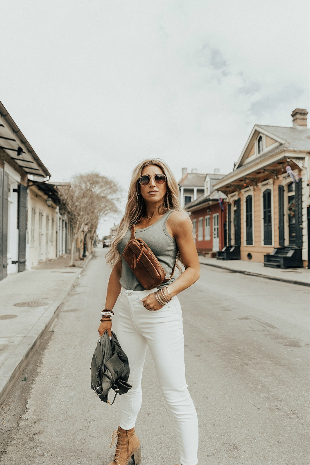 White denim outfit ideas for Spring