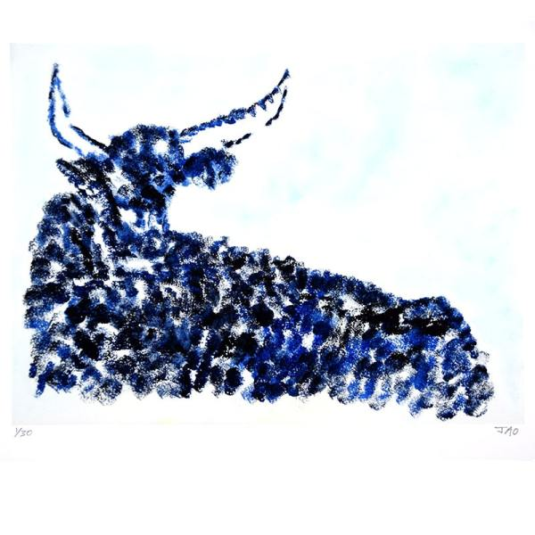 JAO Art Print Taurus the Bull