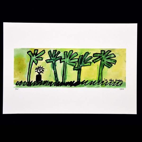 in the trees fine art gilcee print