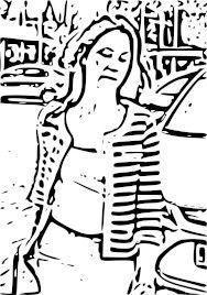 Dibujo de la jueza Mercedes Alaya