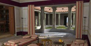 Imagen de una antigua casa romana