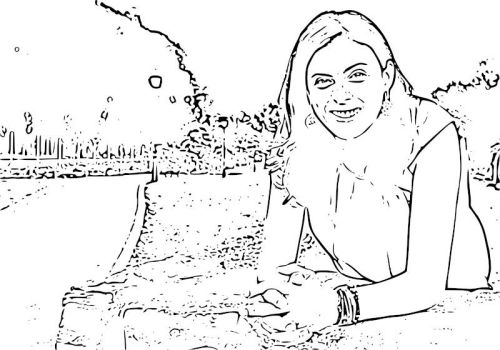 Dibujo de Elena Andrades