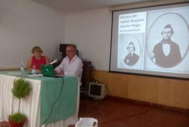 Conferencia sobre el Misterio del Mary Celeste impartida por J. A. Ortega.
