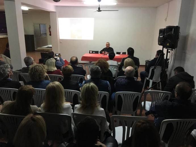 Presentación del libro El Sueño de Tánato en el Casino de Los Barrios