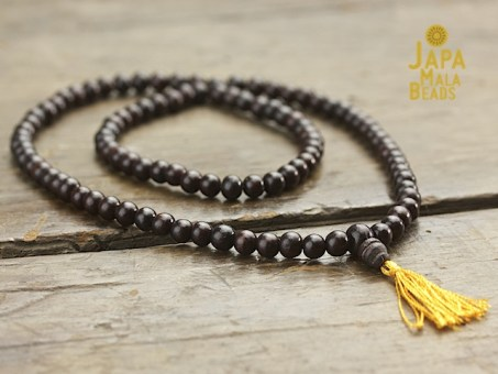 Rosewood Necklace Mala