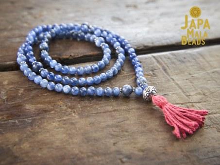 Kyanite necklace Mala