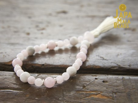 Rose Quartz Bracelet Buddhist Beads