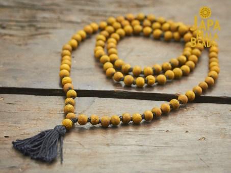 turmeric mala beads