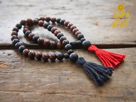 Mahogany Obsidian Bracelet Malas