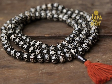 Bone Mantra Full Mala