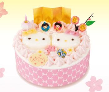 不二家ひな祭りケーキ24